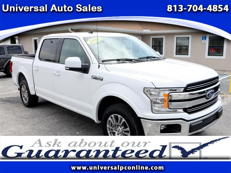 Ford F-150 XL SuperCrew 5.5-ft. Bed 2WD 2020