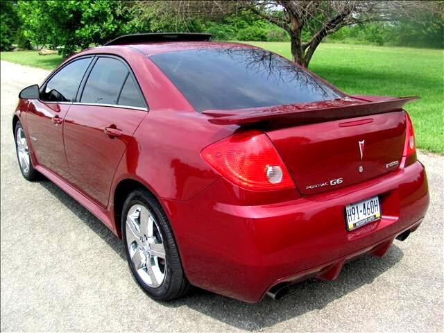 2008 Pontiac G6 GXP Sedan