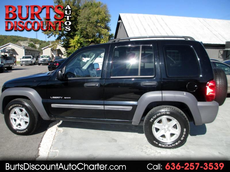 2003 Jeep Liberty Sport 4WD **FINANCING AVAILABLE**