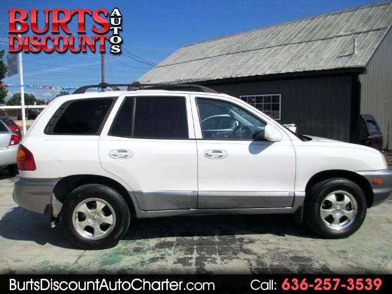 2003 Hyundai Santa Fe GLS 4WD **FINANCING AVAILABLE**