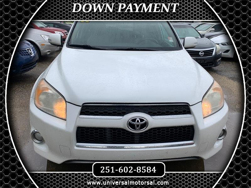 Toyota RAV4 Limited I4 2WD 2011