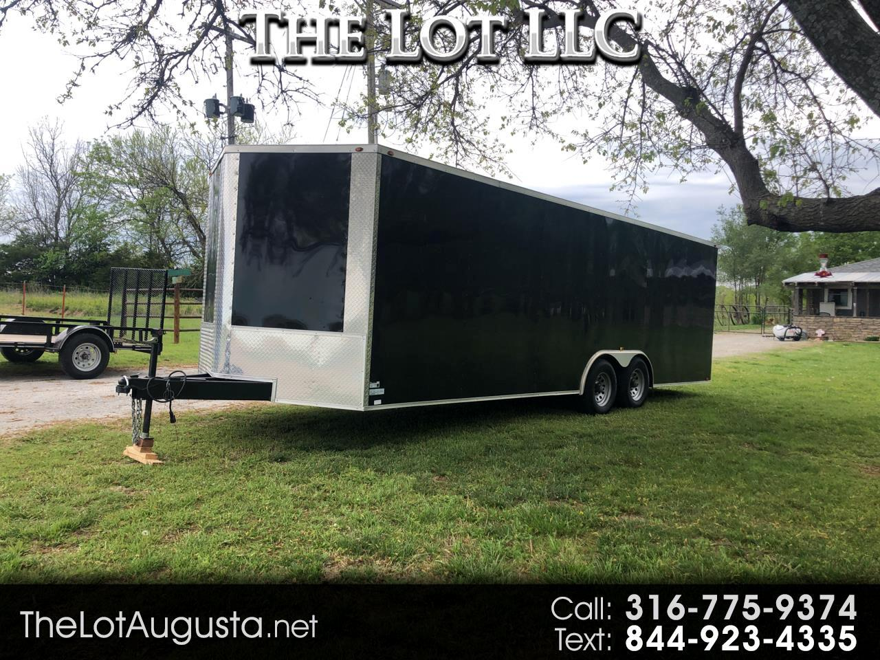 Double R Trailers Enclosed Trailer Base 2019