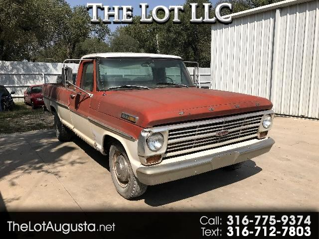 1968 Ford Ranger Custom Reg. Cab Long Bed 2WD