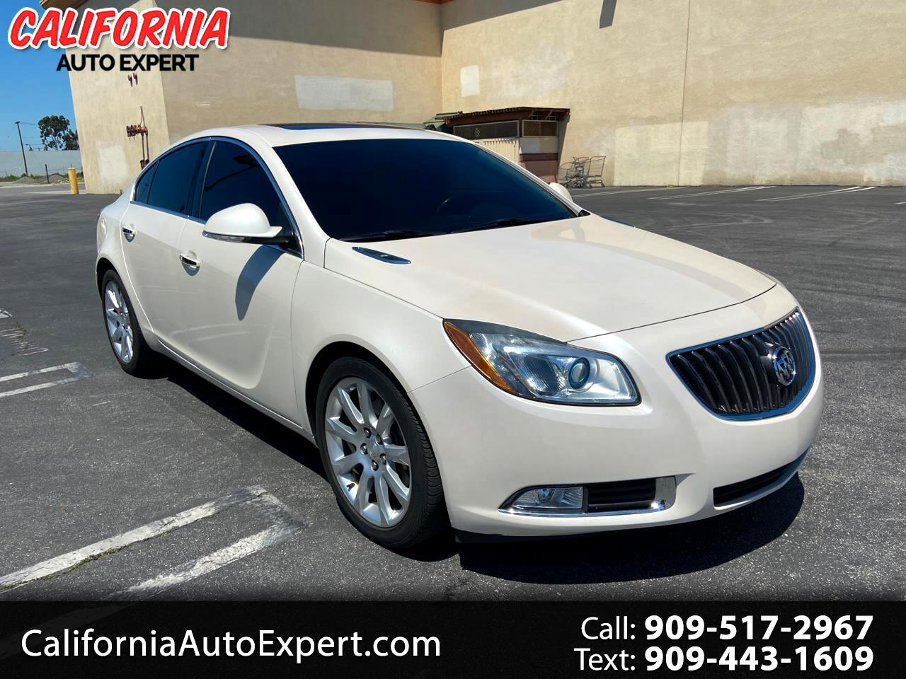 Buick Regal 4dr Sdn Turbo Premium 3 2012