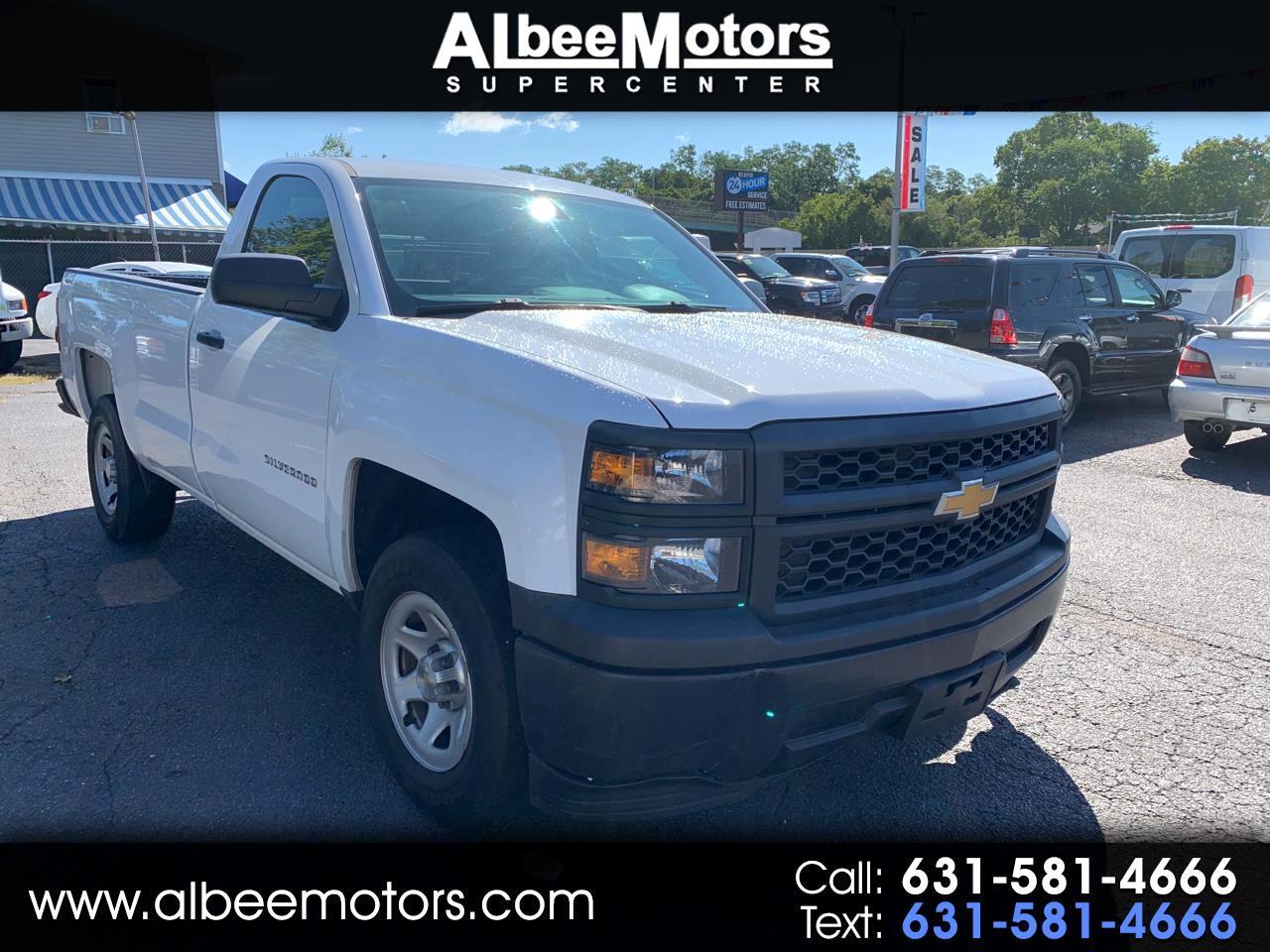 """Chevrolet Silverado 1500 2WD Reg Cab 133.0"""" Work Truck w/1WT 2014"""