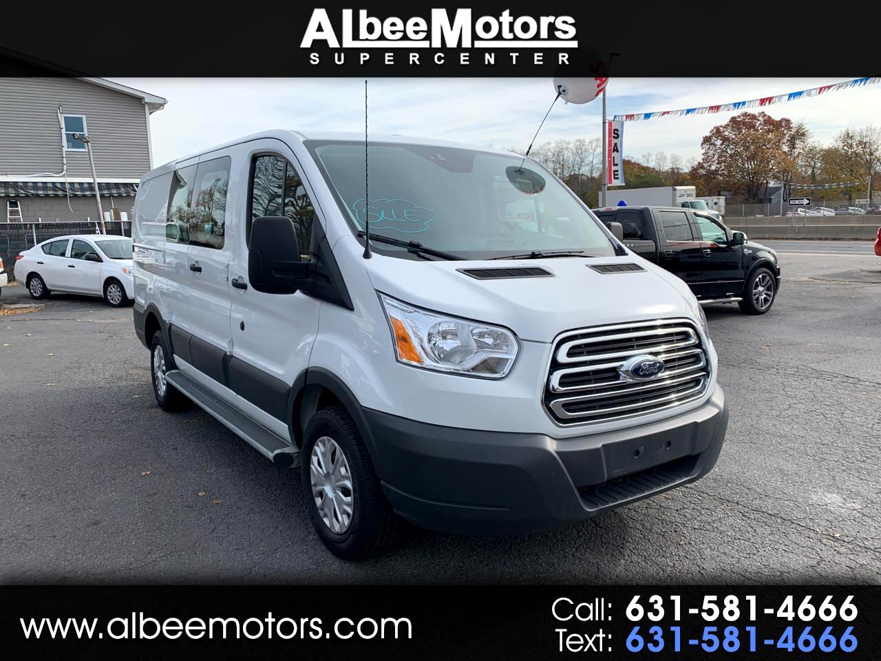 "Ford Transit Van T-250 130"" Low Rf 9000 GVWR Swing-Out RH Dr 2018"