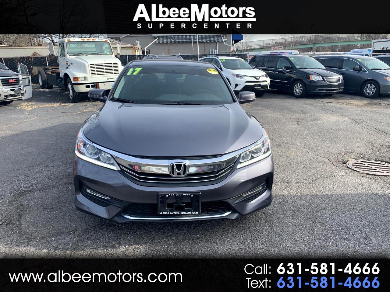 Honda Accord Sedan EX Manual 2017