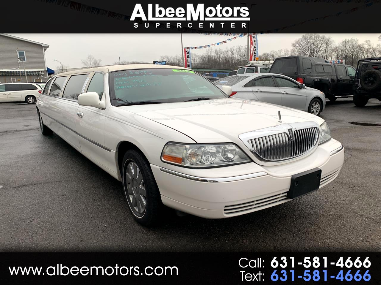Lincoln Town Car Executive w/Limousine Builders Pkg 2005