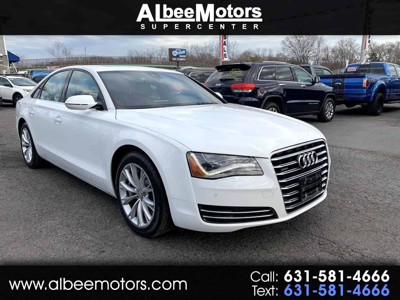 Audi A8 4dr Sdn 2012