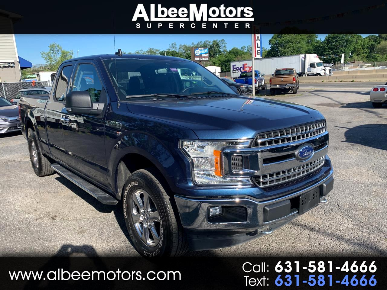 "Ford F-150 4WD SuperCab 145"" XLT 2019"