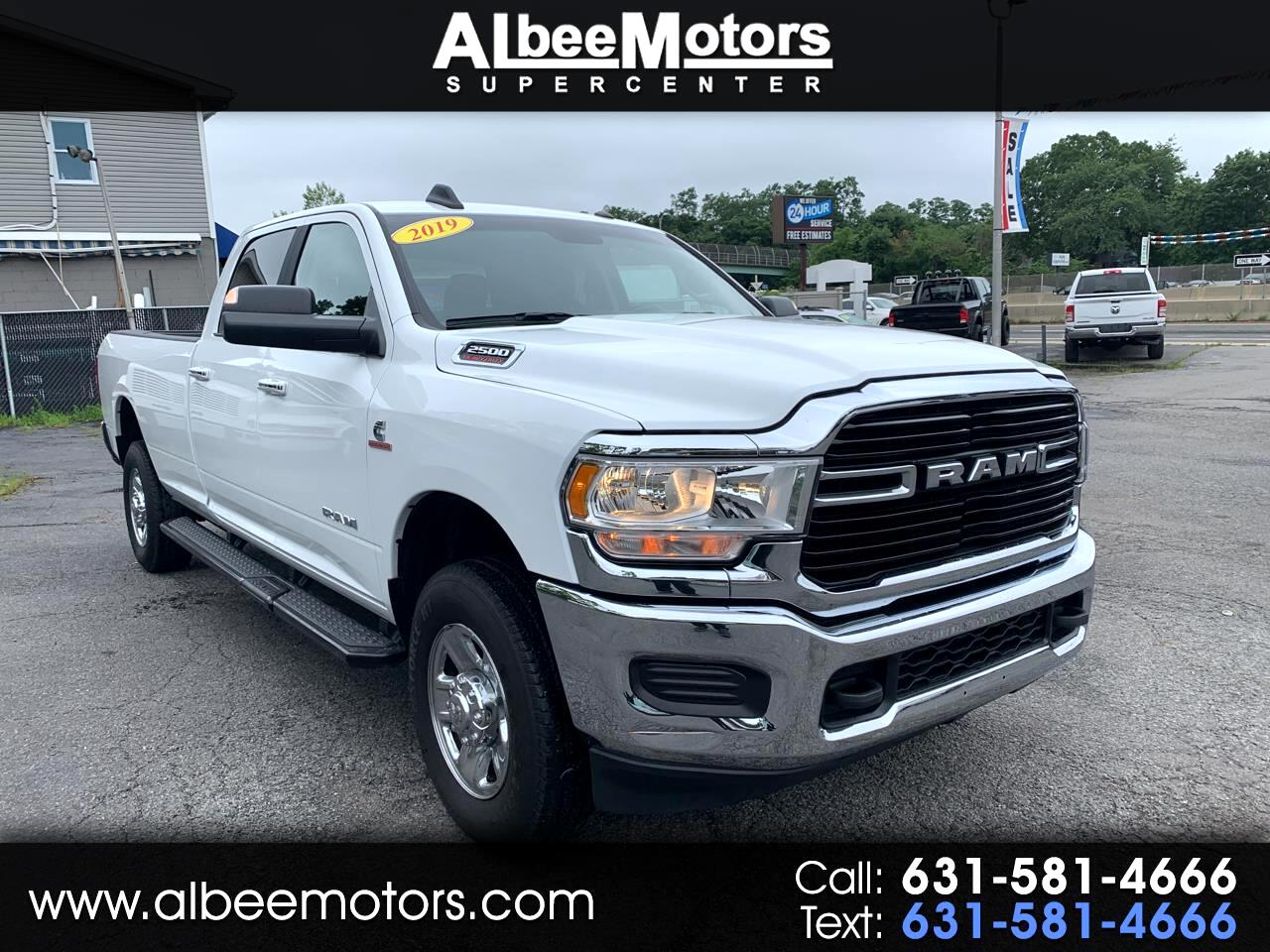 RAM 2500 Big Horn 4x4 Crew Cab 8' Box 2019