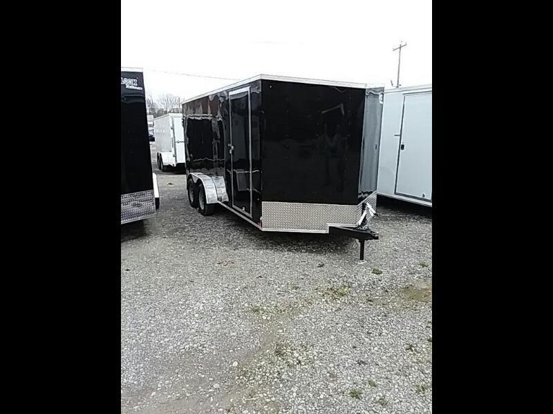 """2020 Look ST Cargo Deluxe 7x16 Ramp Door 6"""" Extra Height"""