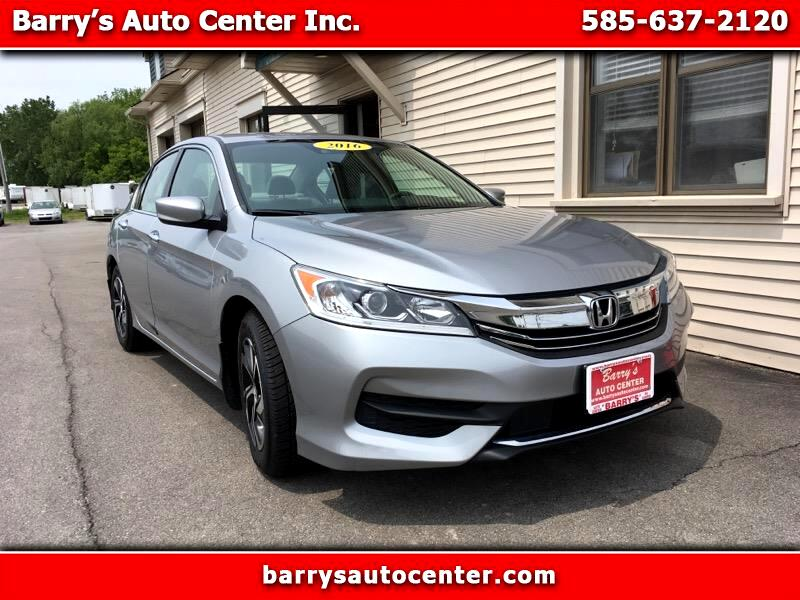 2016 Honda Accord LX Sedan CVT w/ Honda Sensing