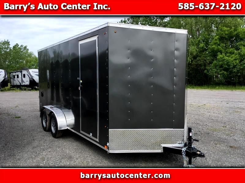 "2020 Look ST Cargo Deluxe 7x16 Ramp Door 12"" Extra Height"