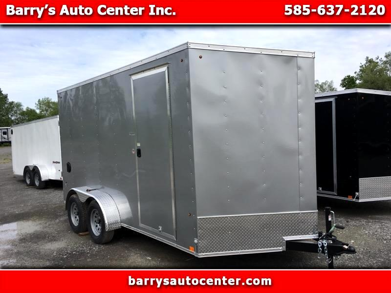"""2020 Look ST Cargo Deluxe 7x14 Ramp Door 12"""" Extra Height"""
