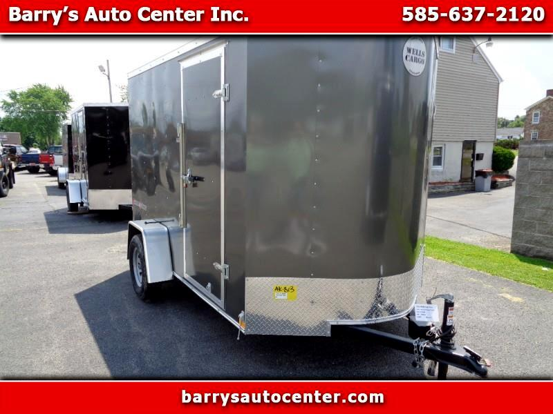 2019 Wells Cargo Fast Trac 6x10 Enclosed Cargo Trailer