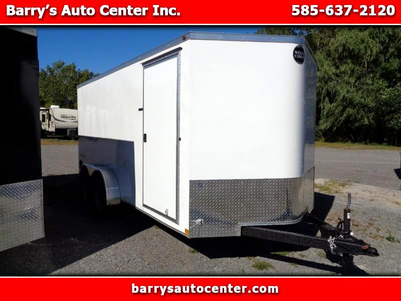 2019 Wells Cargo RFV716T2 7x16 Enclosed Cargo Trailer
