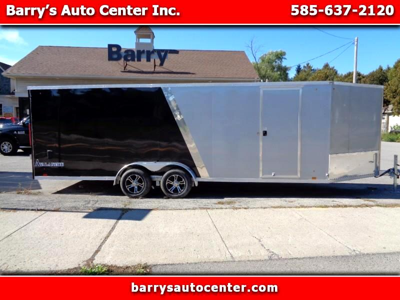 2020 Look Avalanche 7'x27' Extended Enclosed Cargo Trailer