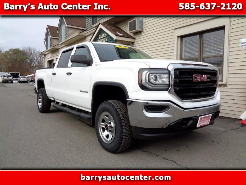 GMC Sierra 1500 Base Crew Cab Short Box 4WD 2017