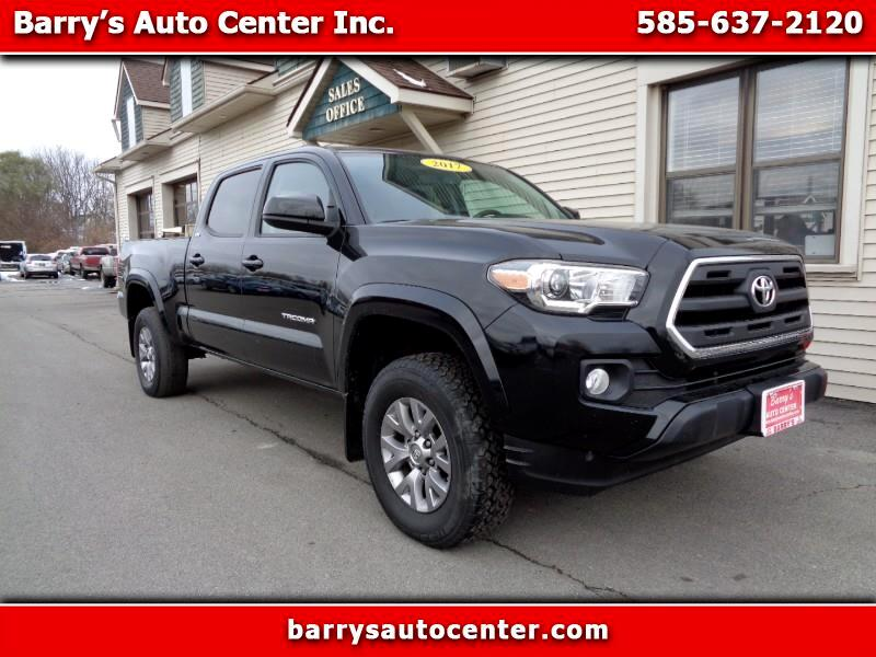 2017 Toyota Tacoma SR5 Double Cab Super Long Bed V6 6AT 4WD