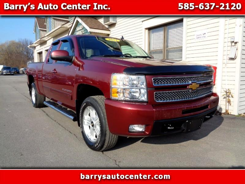 2013 Chevrolet SILVERADO LTZ Ext. Cab Long Box 4WD