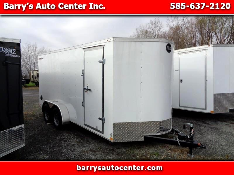 2020 Wells Cargo Fast Trac 7x16 Enclosed Cargo Trailer