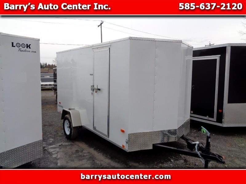 2020 Look Equinox 6x12 Enclosed Cargo Trailer