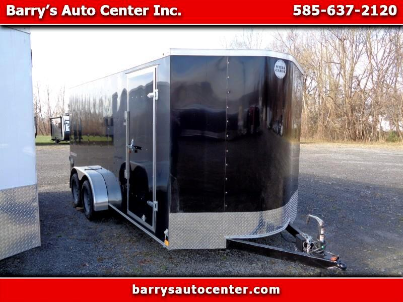 2020 Wells Cargo Fast Trac Deluxe 7x16 Enclosed Cargo Trailer