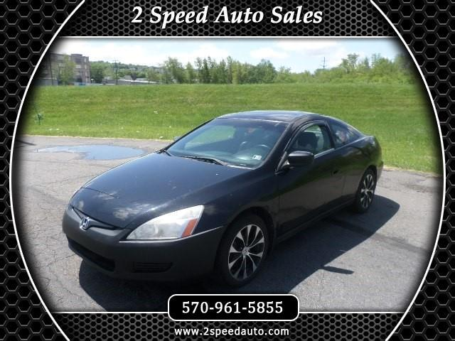 2005 Honda Accord EX V-6 Coupe 6-Speed MT with XM Radio