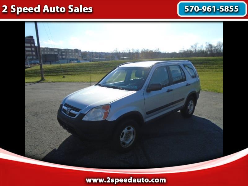 Honda CR-V LX 4WD 4-spd AT 2003