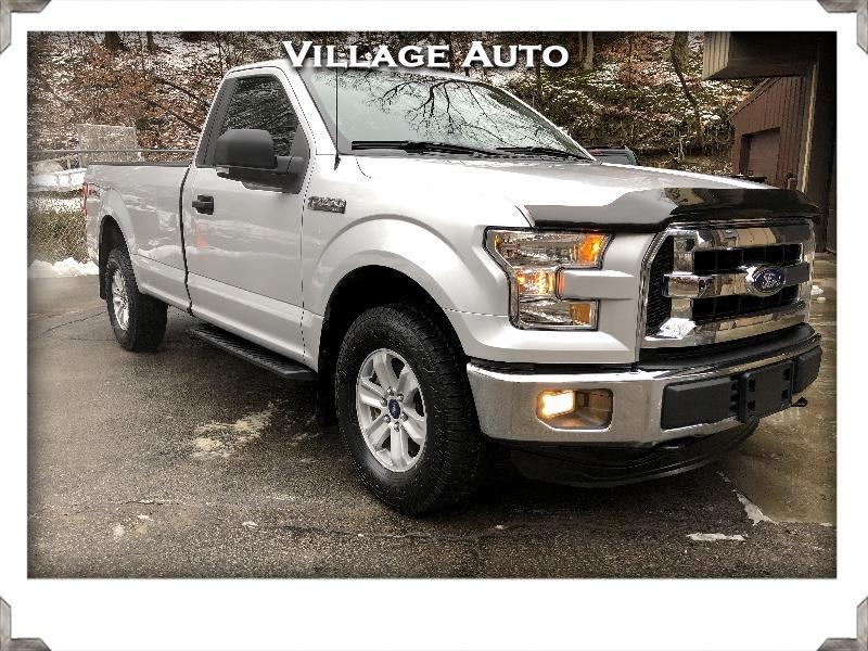 2016 Ford F-150 XLT 8-ft Bed FX4 4WD
