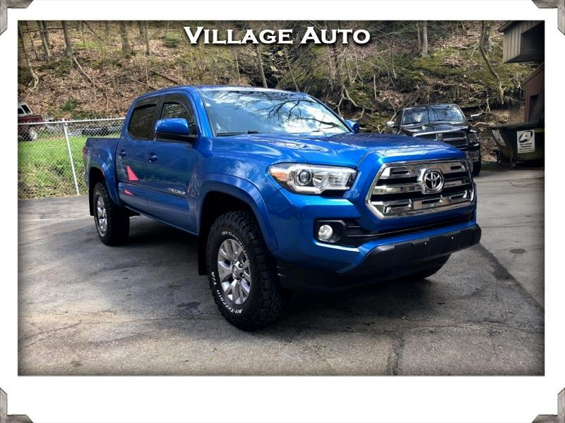 2016 Toyota Tacoma SR5 Double Cab 5' Bed V6 4x4 AT (Natl)