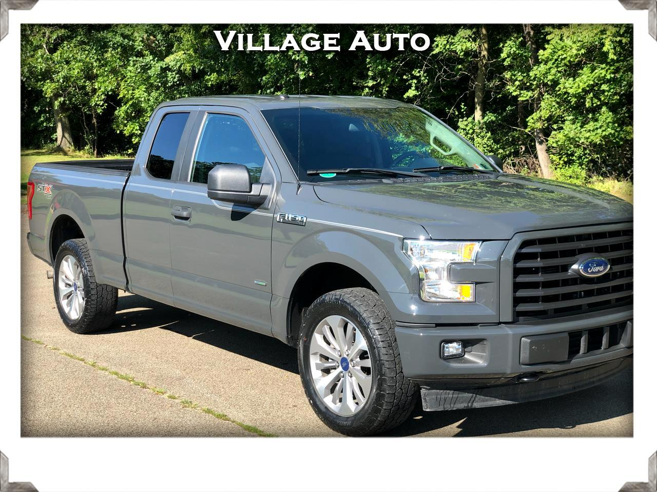 Ford F-150 XL SuperCab 6.5-ft. Bed 4WD 2017