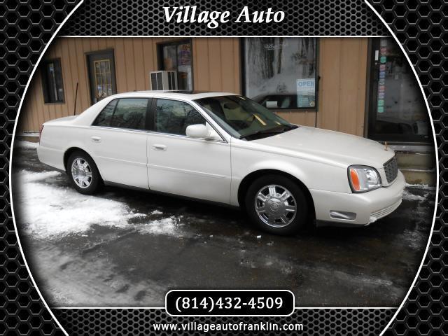 2003 Cadillac DeVille Sedan