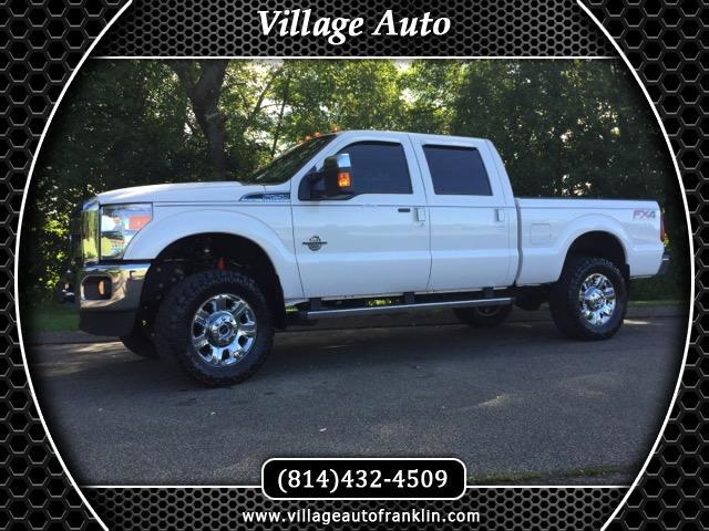 2013 Ford F-250 SD Lariat Crew Cab Short Bed 4WD