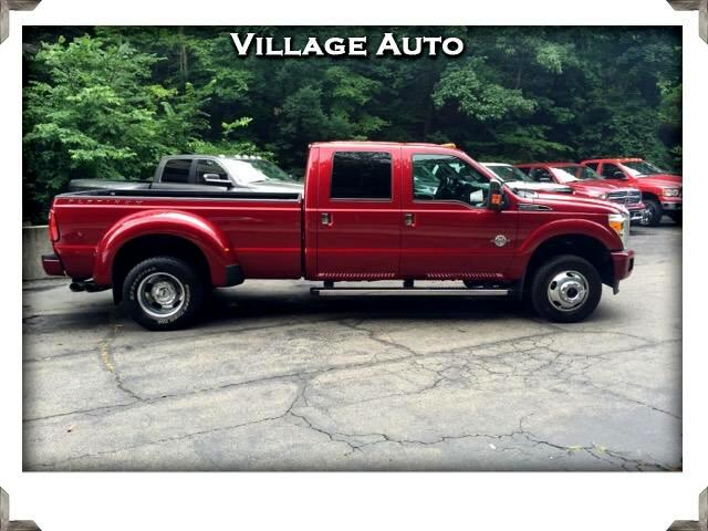 2014 Ford F-350 SD Lariat Crew Cab Long Bed 4WD DRW