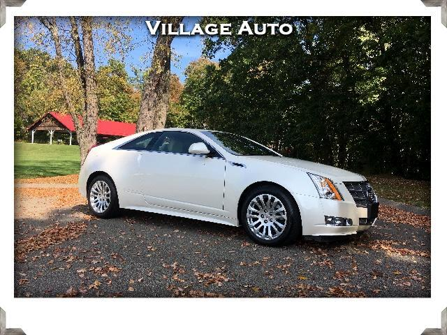 2011 Cadillac CTS Premium AWD Coupe