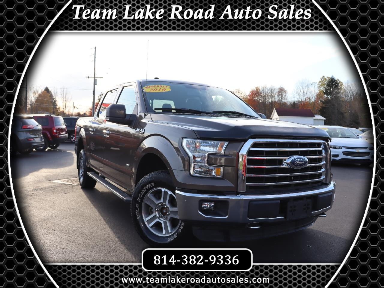 "Ford F-150 SuperCrew 150"" XLT 4WD 2016"