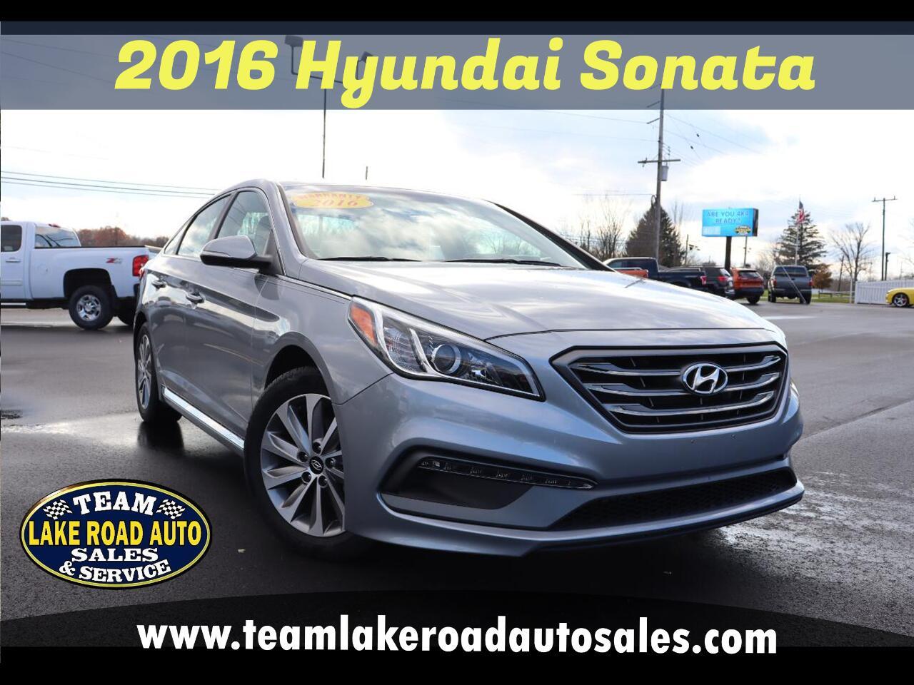 Hyundai Sonata 4dr Sdn 2.4L Sport PZEV 2016