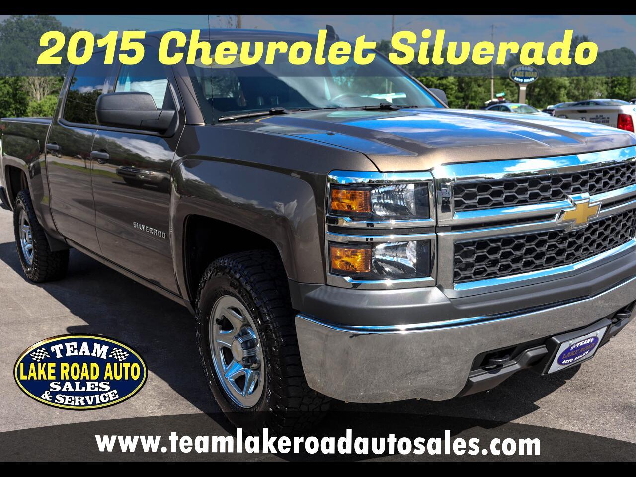 """Chevrolet Silverado 1500 4WD Crew Cab 143.5"""" LS 2015"""