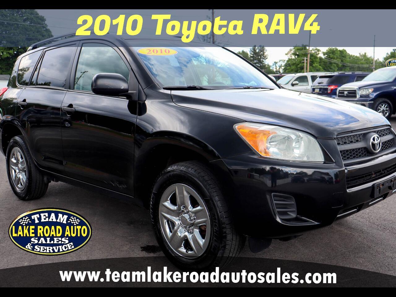 Toyota RAV4 4WD 4dr 4-cyl 4-Spd AT (Natl) 2010