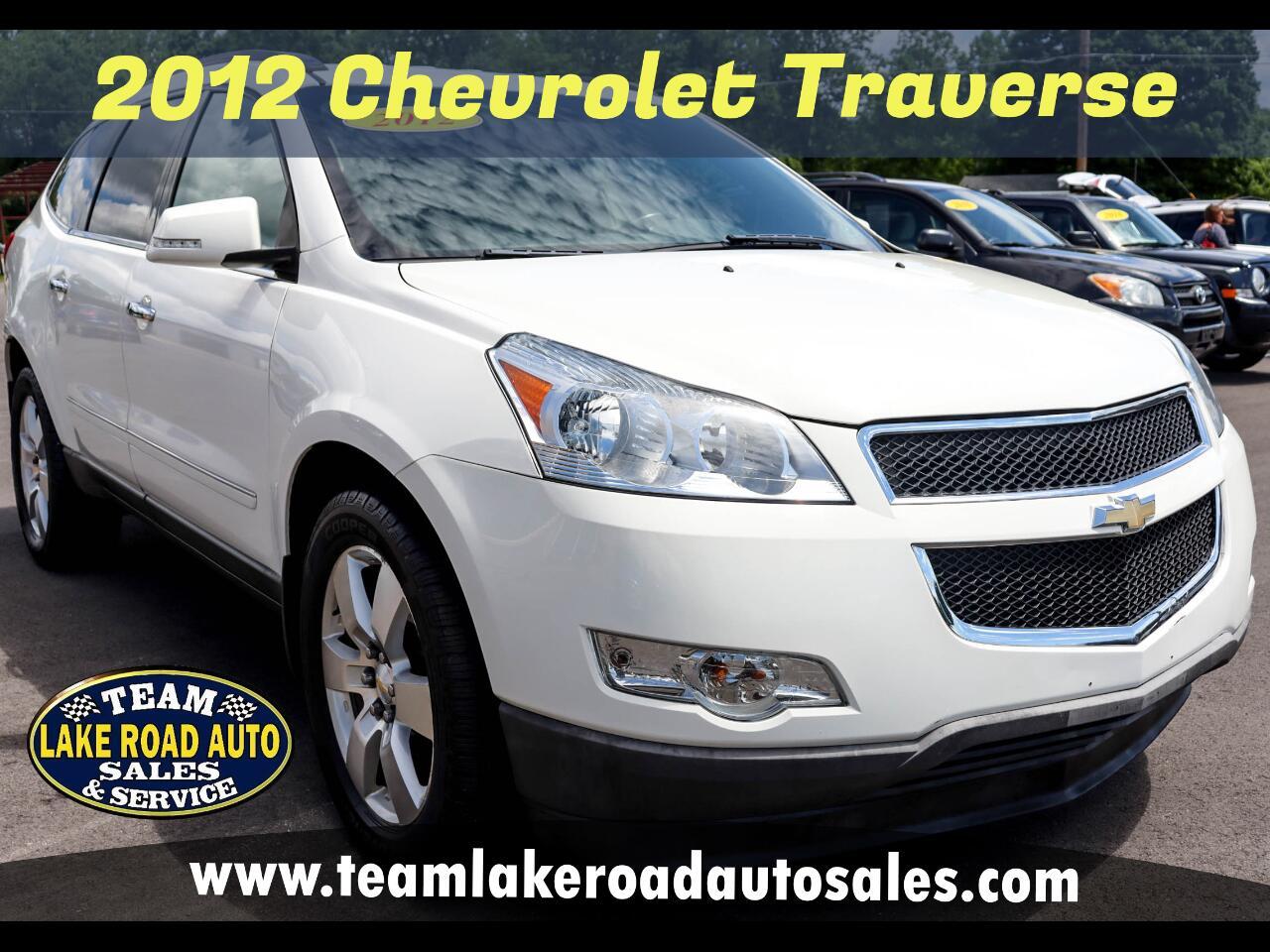 Chevrolet Traverse AWD 4dr LTZ 2012