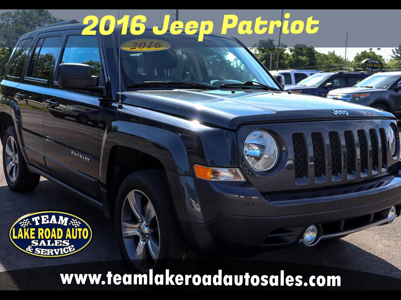Jeep Patriot 4WD 4dr High Altitude Edition 2016