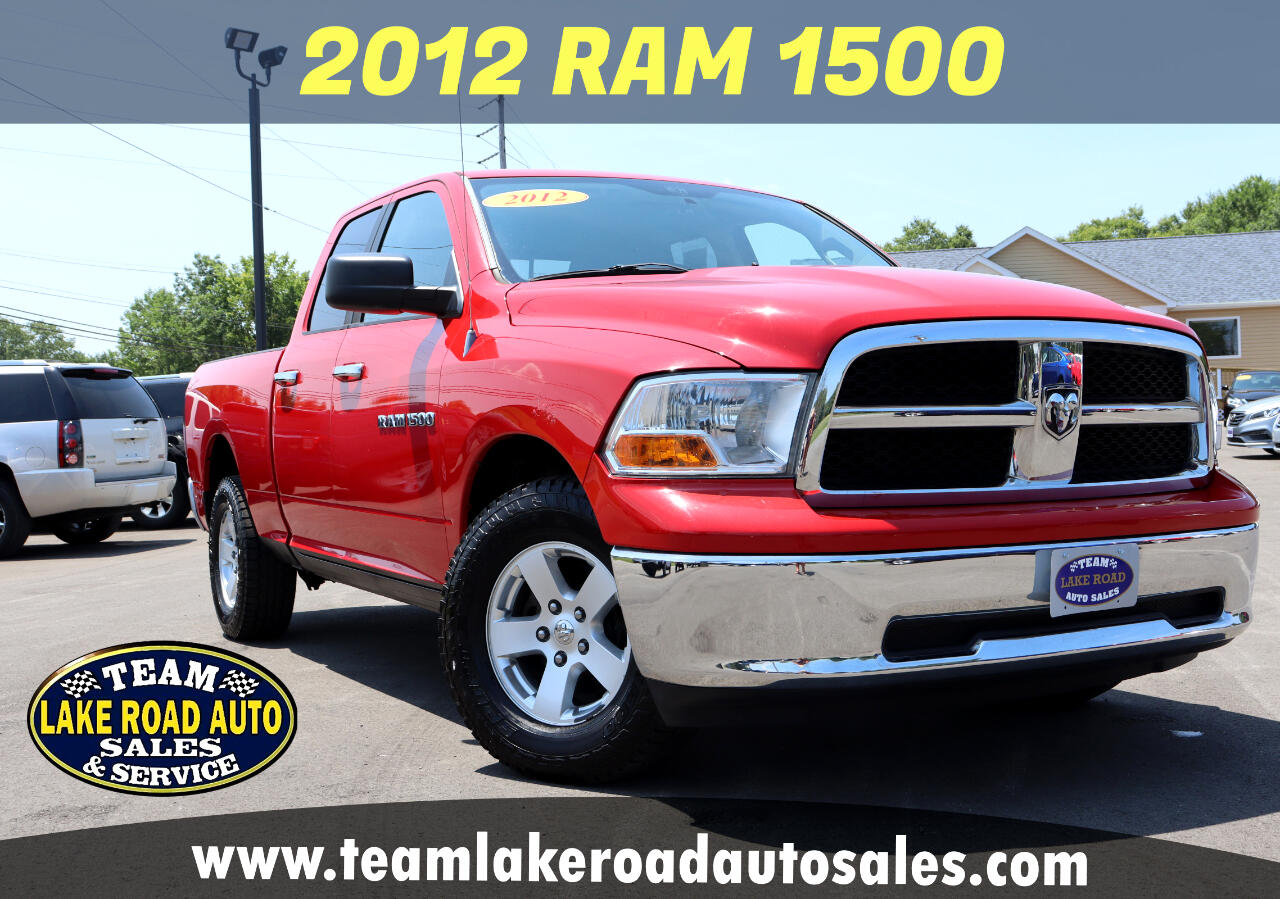 "RAM 1500 4WD Quad Cab 140.5"" SLT 2012"