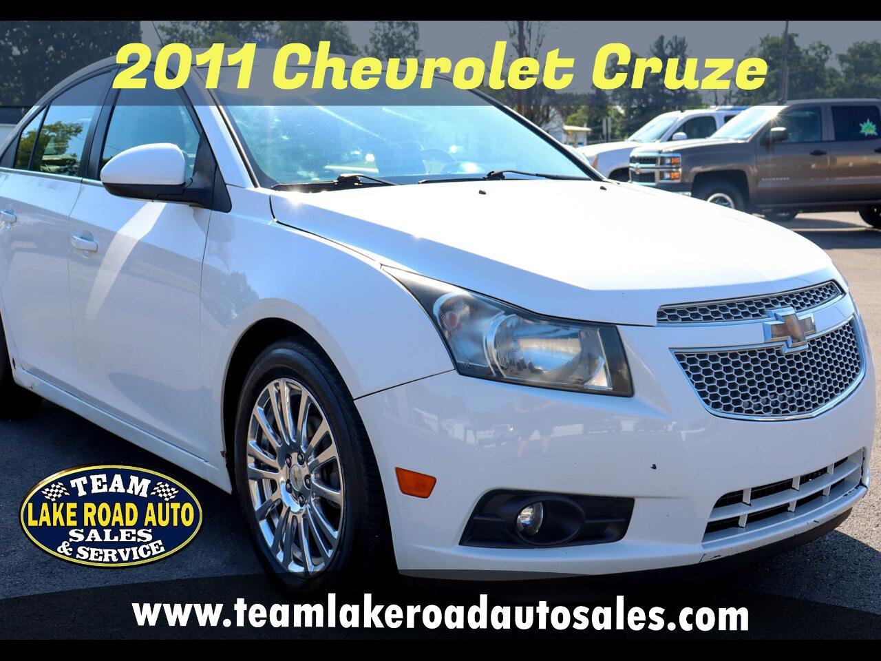 Chevrolet Cruze 4dr Sdn ECO w/1XF 2011