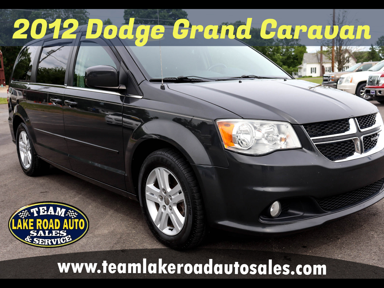 Dodge Grand Caravan 4dr Wgn Crew 2012