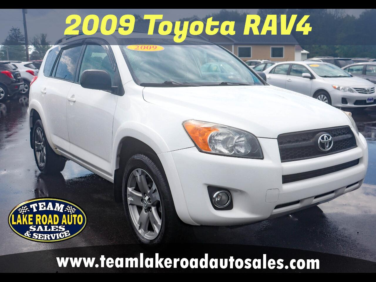 Toyota RAV4 4WD 4dr 4-cyl 4-Spd AT Sport (Natl) 2009
