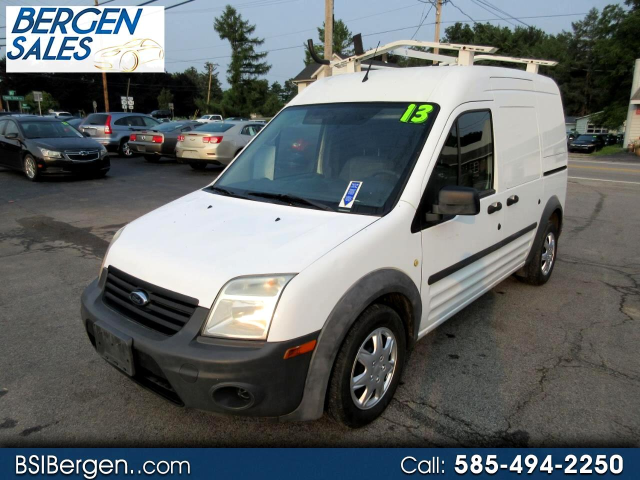 Ford Transit Connect XL with Rear Door Glass 2013