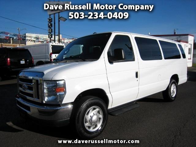 2013 Ford Econoline E-350 XLT 15 Passenger Super Duty Extended Van