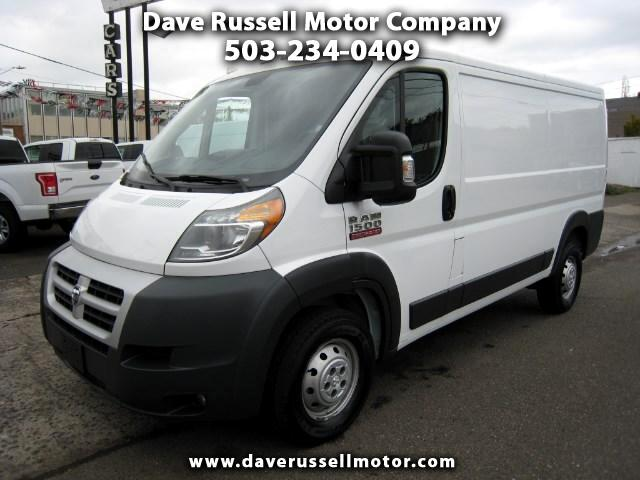 2014 RAM Promaster 1500 Low Roof Tradesman Cargo Van 136-in. WB